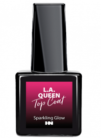 L.A. Queen  Shellac Top Coat - Sparkling Glow