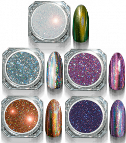 Mirror 3D Powder Disco Silver
