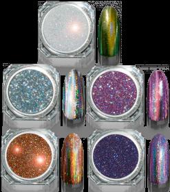 Mirror 3D Powder Disco Pink