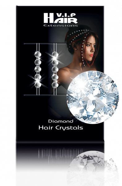 Diamond Hair Crystals 10 Stück