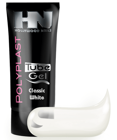 PolyPlast Tube Gel Classic White