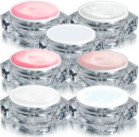Titan French Gel UV Set 7 x 10 g