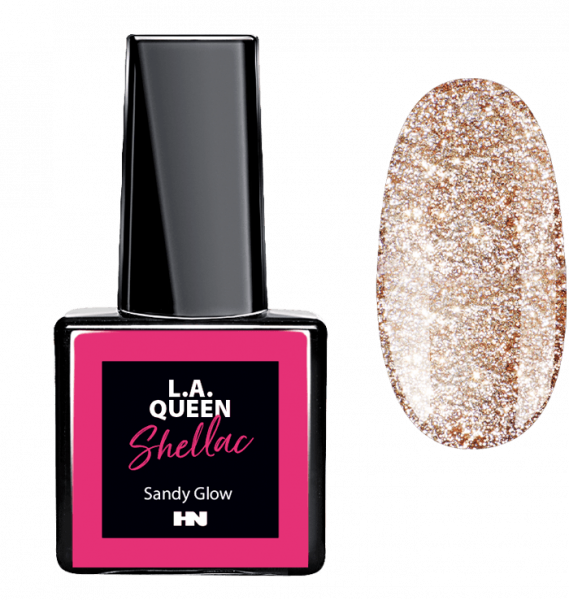 L.A. Queen UV Gel Shellac - Sandy Glow #31 15 ml