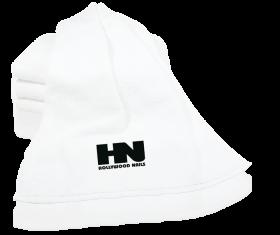 HN Handtuch Logo weiß