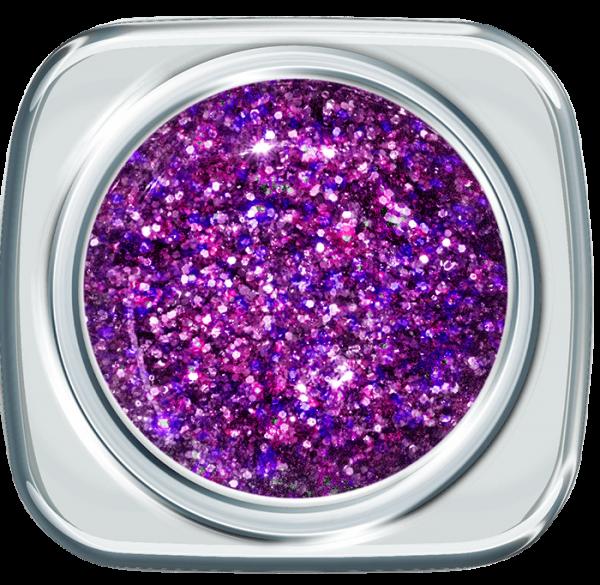 Glitter UV Gel 373 Vibruat Violet 5 g
