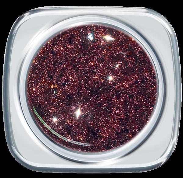 Glitter UV Gel Brilliant Abergine 366