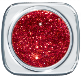 Glitter UV Gel Romantic Red 210
