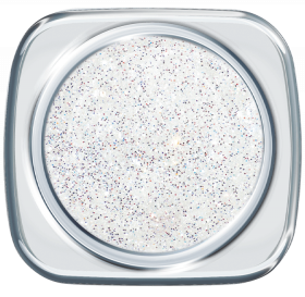 Glitter UV Gel Small White Diamonds 97