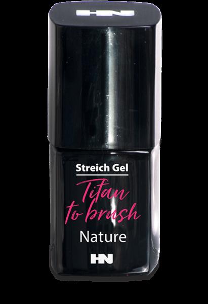Titan to Brush Streich UV Gel Nature