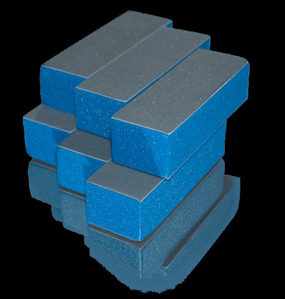 High Shine Buffer Blue 6 Stück