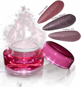Glamour Dip Powder Rose Sparkle