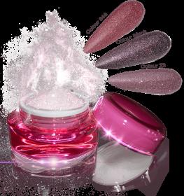Glamour Dip Powder Rose Sparkle