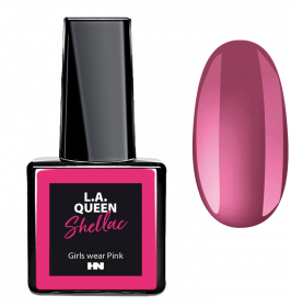 L.A. Queen UV Gel Shellac - Girls wear Pink #16 15 ml