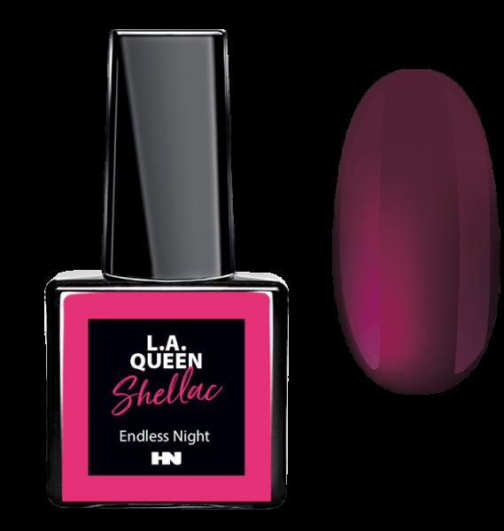 L.A. Queen UV Gel Shellac - Endless Night #22 15 ml